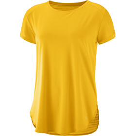 Salomon Comet Breeze t-shirt Dames, saffron